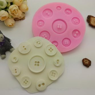 Multi-Button Silicone Mold
