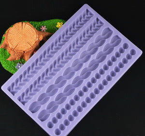 Multi Borders Silicone Mold