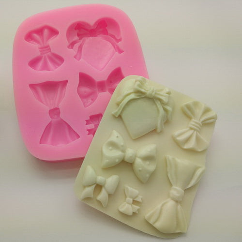 Multi Bow Knot Silicone Mold