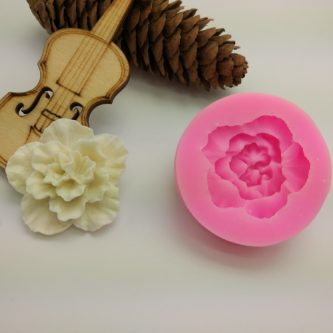 Cabbage Rose Mold