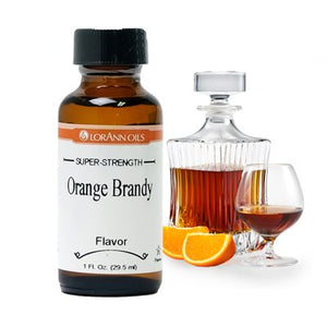 Orange Brandy Flavor, 1oz