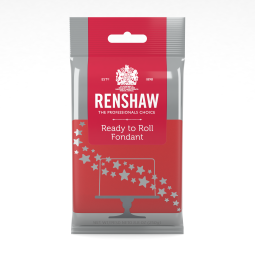 8.8oz Red Renshaw Ready To Roll Fondant