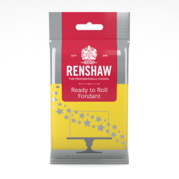 8.8oz Yellow Renshaw Ready-To-Roll Fondant