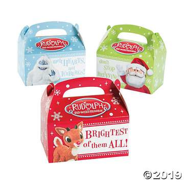 Rudolph Treat Boxes