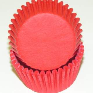 Red Mini Baking Cups