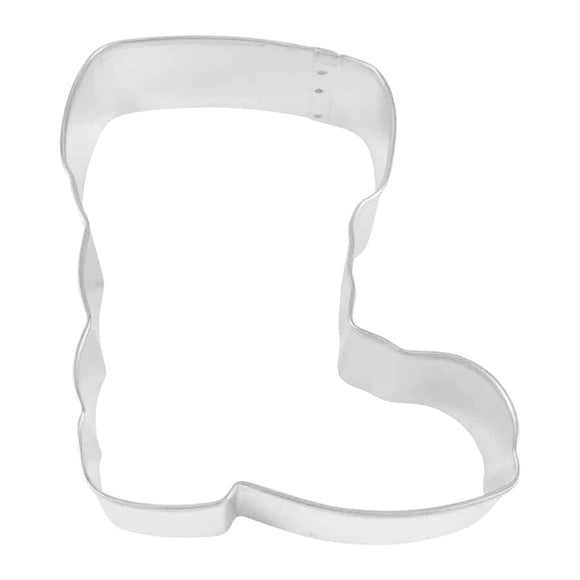 SANTA BOOT COOKIE CUTTER (4″)