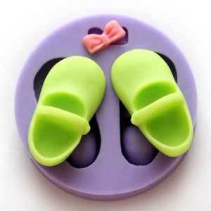Shoes and Bow Silicone Mold