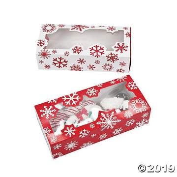 Snowflake Cookie Box