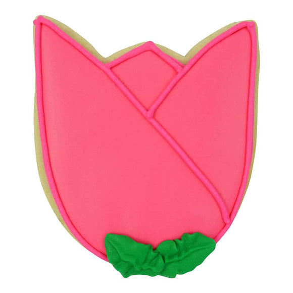 TULIP BLOOM COOKIE CUTTER (3.5″)