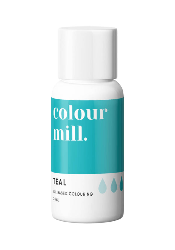 Teal Oil Based Colour