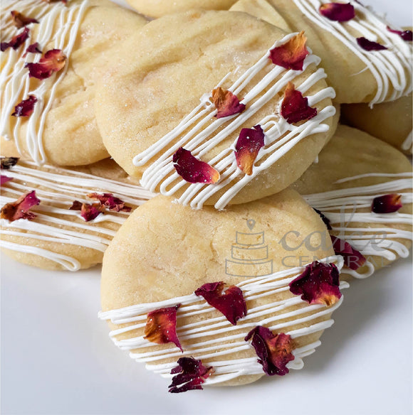 Raspberry & White Chocolate Cookies