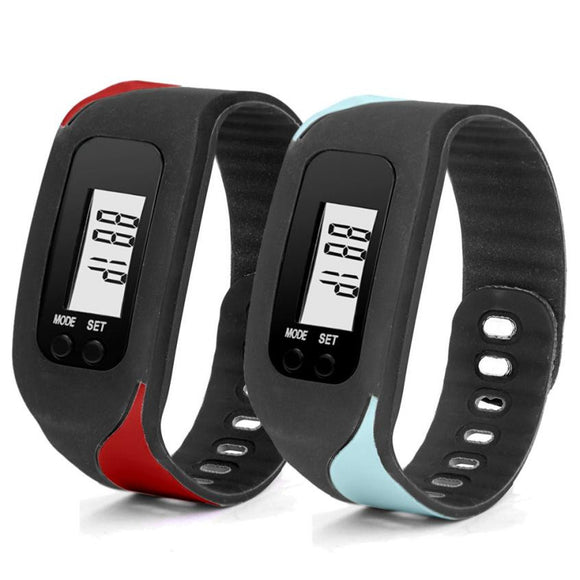 2017 New Pedometer step counter bluetooth Health Bracelet Smart Pedometers Fitness Tracker#YL