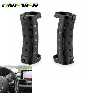 Onever 1 Pair Universal Car Steering Wheel Remote Controller 10 Key Buttons