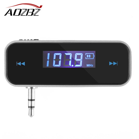 Car FM Transmitter For Smart Phone Bluetooth Wireless Modulator LCD Display