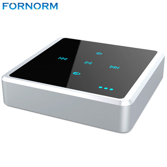 Fornorm 2 In 1 Wireless Touch Key Design Bluetooth Audio Receiver Transmitter MP3 TV