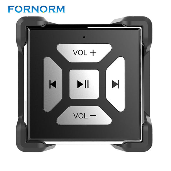 FORNORM Portable Bluetooth Media Button Remote Control Multimedia