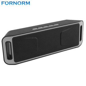 Fornorm Wireless Bluetooth 4.0 Stereo Subwoofer Speaker