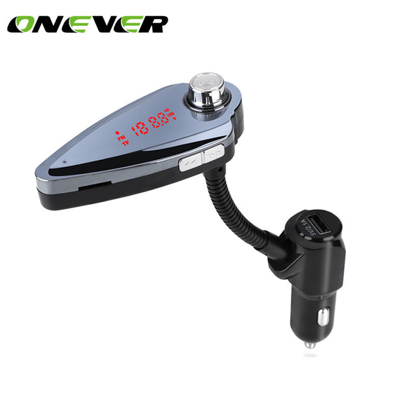 Bluetooth Car Kit Music Player FM Transmitter Modulator 3.1A Dual USB Car Charger