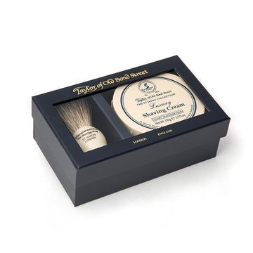 Taylor of Old Bond Street Pure Badger & Mr. Taylor Gift Box
