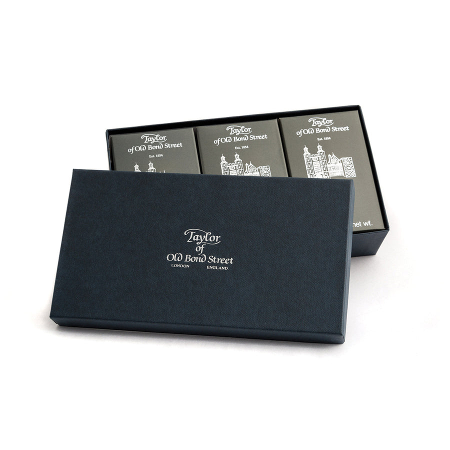 Taylor of Old Bond Street Eton Collection Bath Soap Gift Set