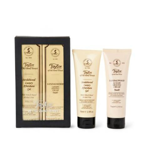 Taylor of Old Bond Street Shave Cream & Moisturizer Gift Box