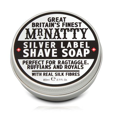 Mr. Natty Silver Label Shave Soap