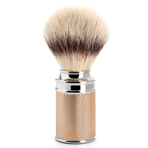 Muhle Silvertip Fibre Traditional Shaving Brush, Rose Gold