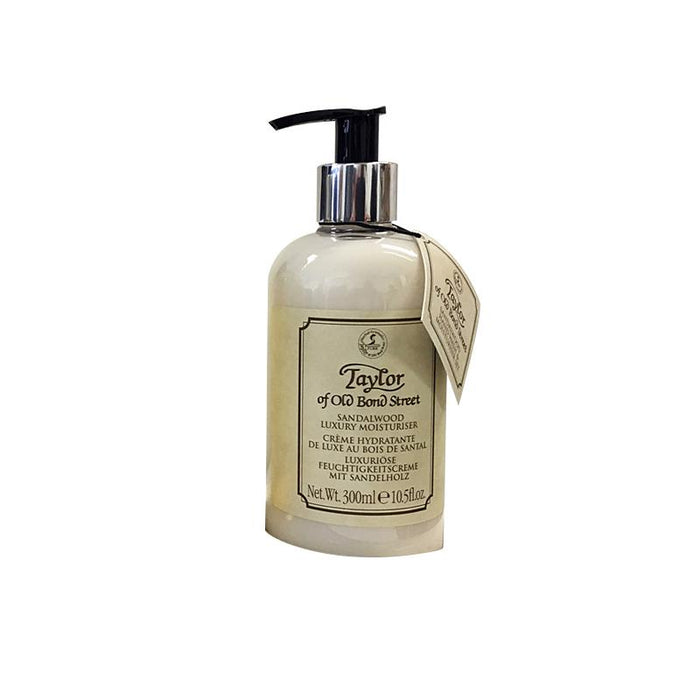 Taylor of Old Bond Street Sandalwood Moisturizer, 300 mL