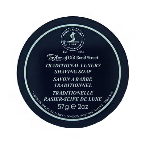 Taylor of Old Bond Street Traditional Shave Soap in Travel Bowl
