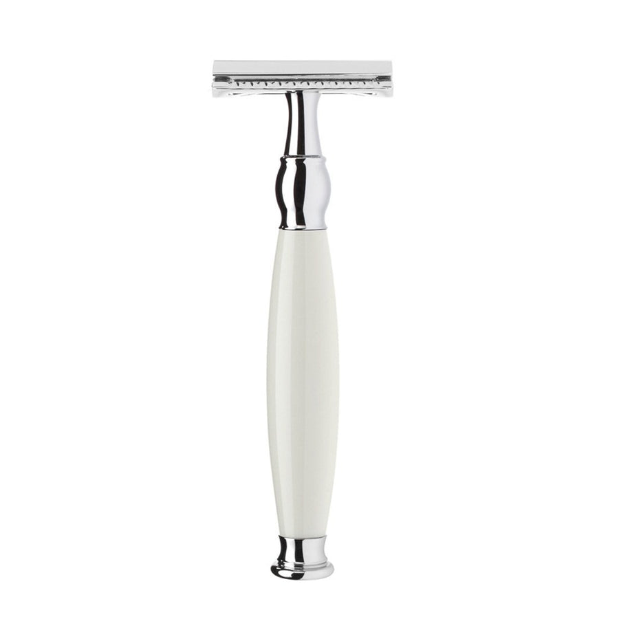 Muhle Sophist Closed Comb Safety Razor in Porcelain