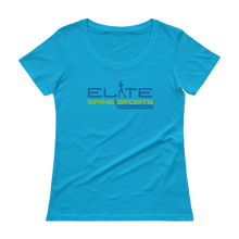 Ladies' Elite Spine and Sports PT Scoopneck T-Shirt