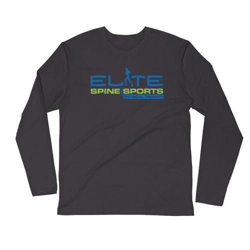 Elite Spines and Sports PT Long Sleeve Fitted Crew