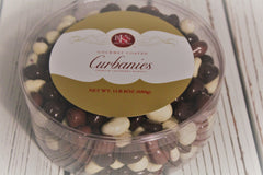 Gourmet Coated Curbanies Tri-Mix: 1 lb 8 oz Round