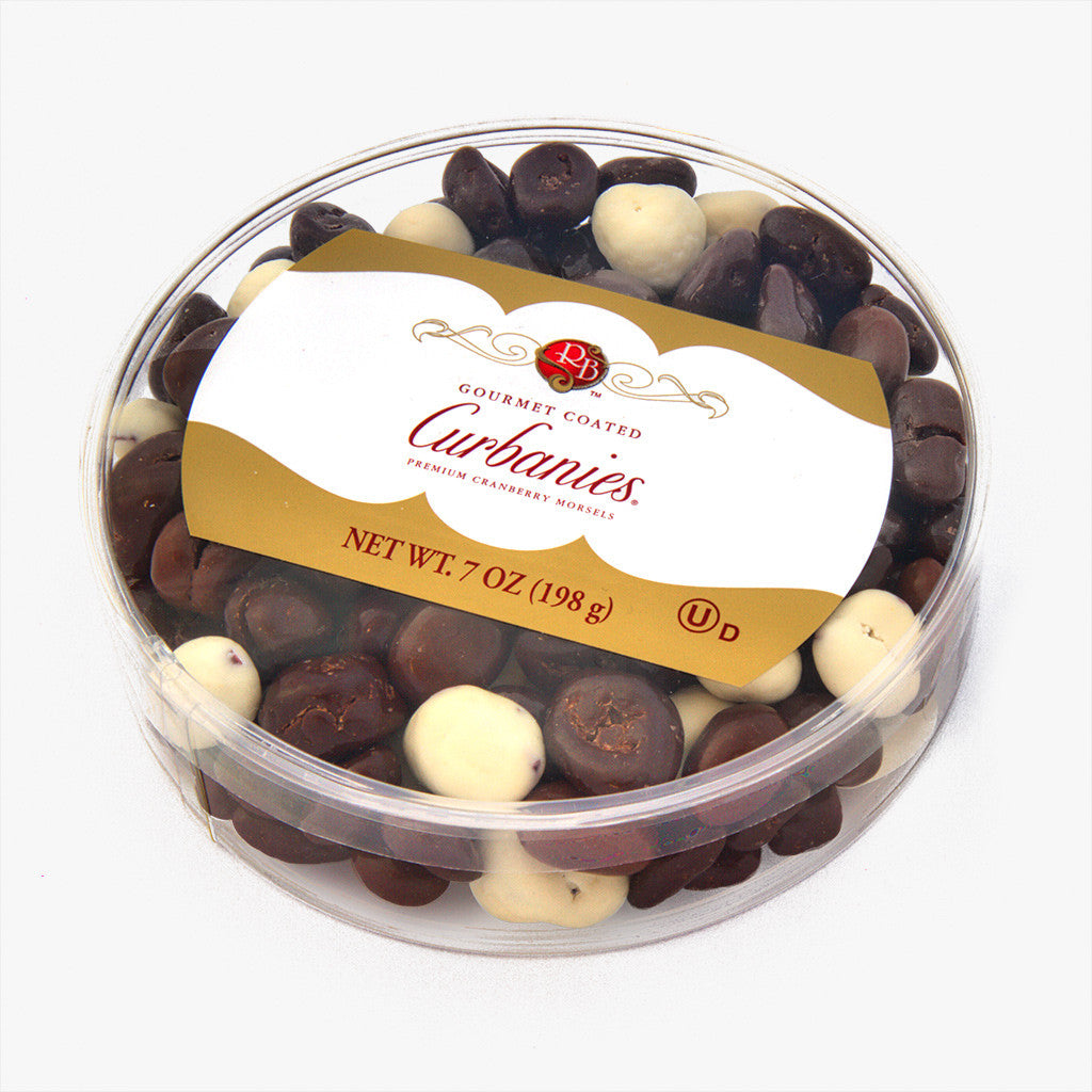 Gourmet Coated Curbanies: 7 oz Round