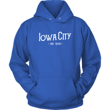 Hometown Iowa City Unisex Hoodie (7 Colors)