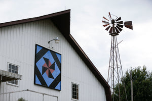 The Gazette Cedar Rapids postcards Barn Quilt