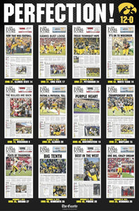 2015 Hawkeyes PERFECTION Poster