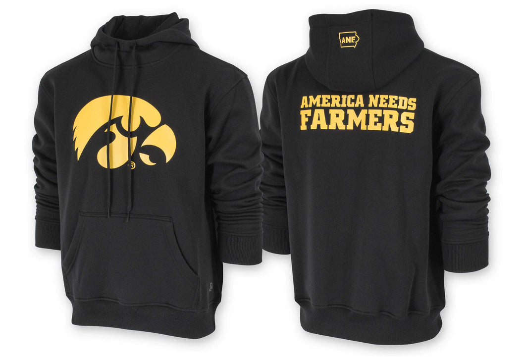 Hawkeye ANF Black Sweatshirt