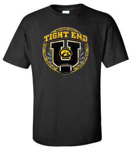 iowa hawkeye clothing hawkeye football tight end u t shirt