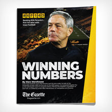 Kirk Ferentz Winning Numbers Booklet