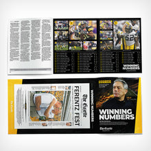 Gift Pack - Kirk Ferentz 144 Wins Poster & Winning Numbers Booklet