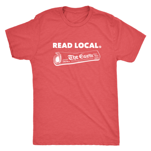 The Gazette Cedar Rapids Real Local T shirt