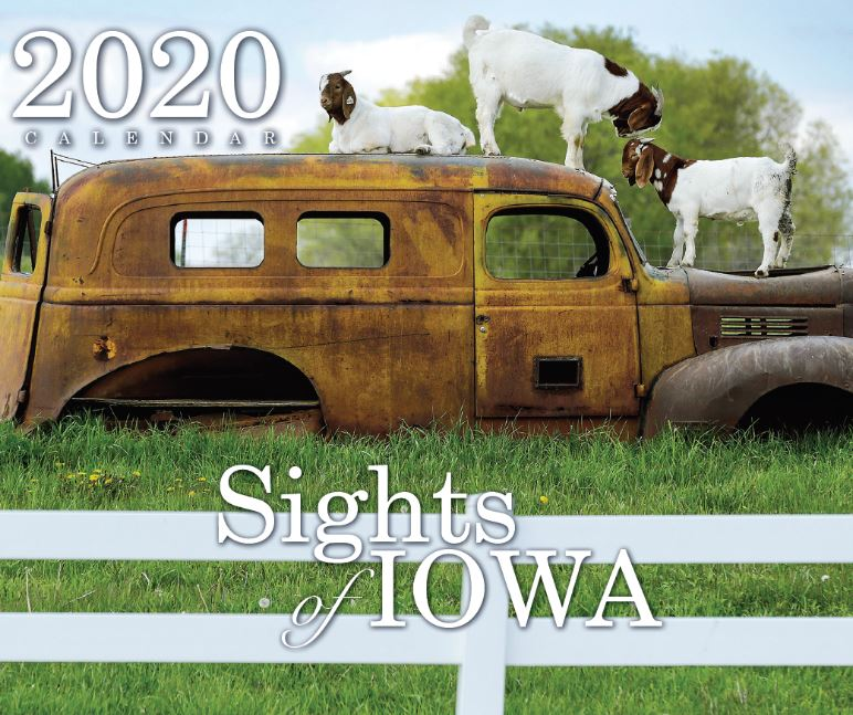 2020 Photo Calendar Sights of Iowa