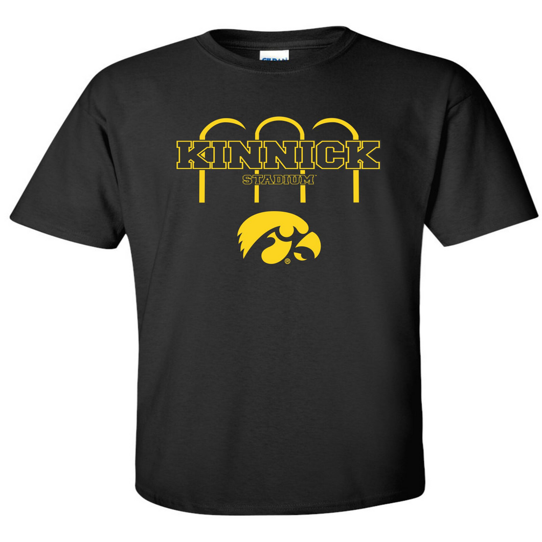 Kinnick Stadium Arches T Shirt