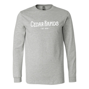 Hometown Cedar Rapids Long Sleeve Unisex Tee (6 Colors)