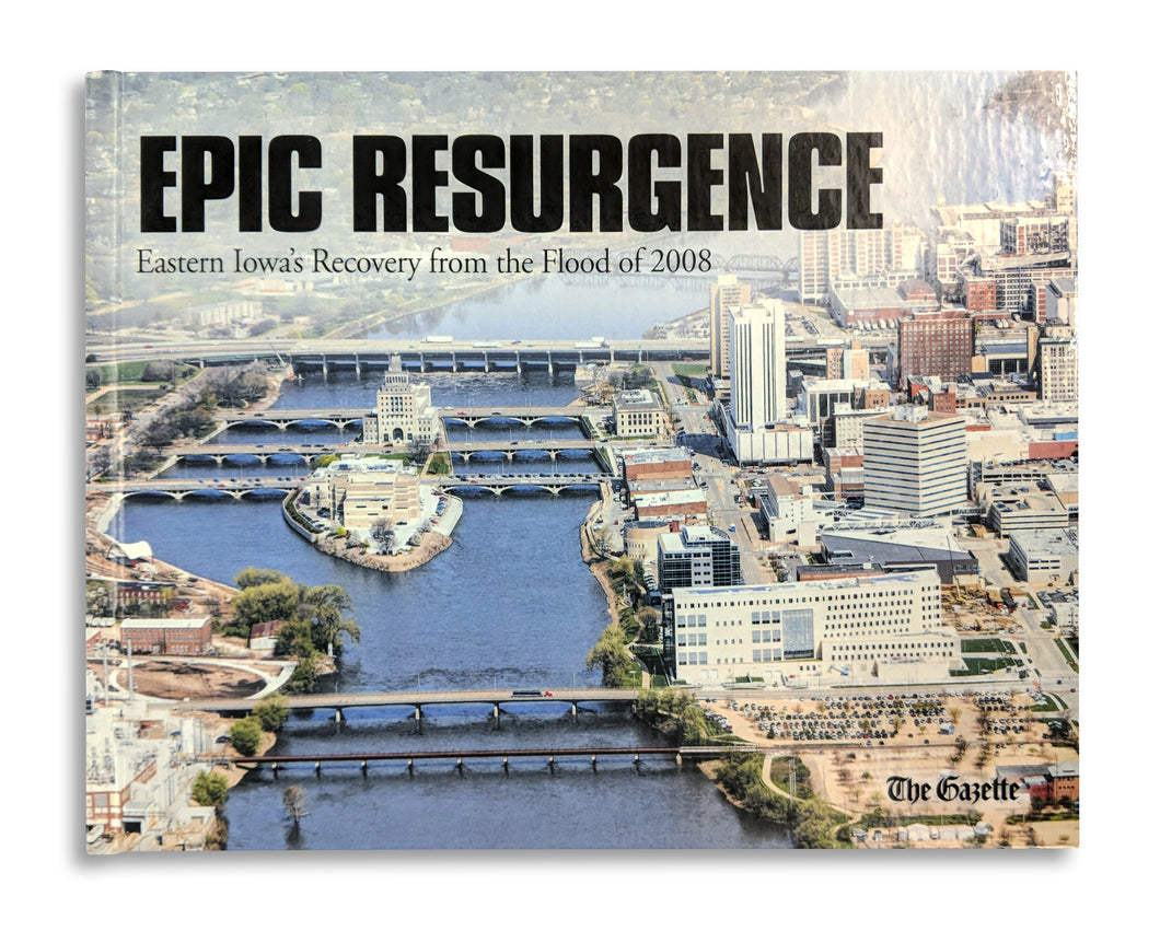 Cedar Rapids Flood recovery book