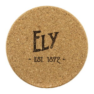 Hometown Ely 4 Pack Cork Coasters