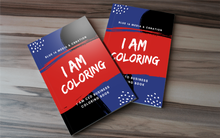 I AM CEO Business Coloring Book + Crayons