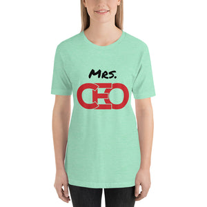 Mrs. CEO - Short-Sleeve Unisex T-Shirt