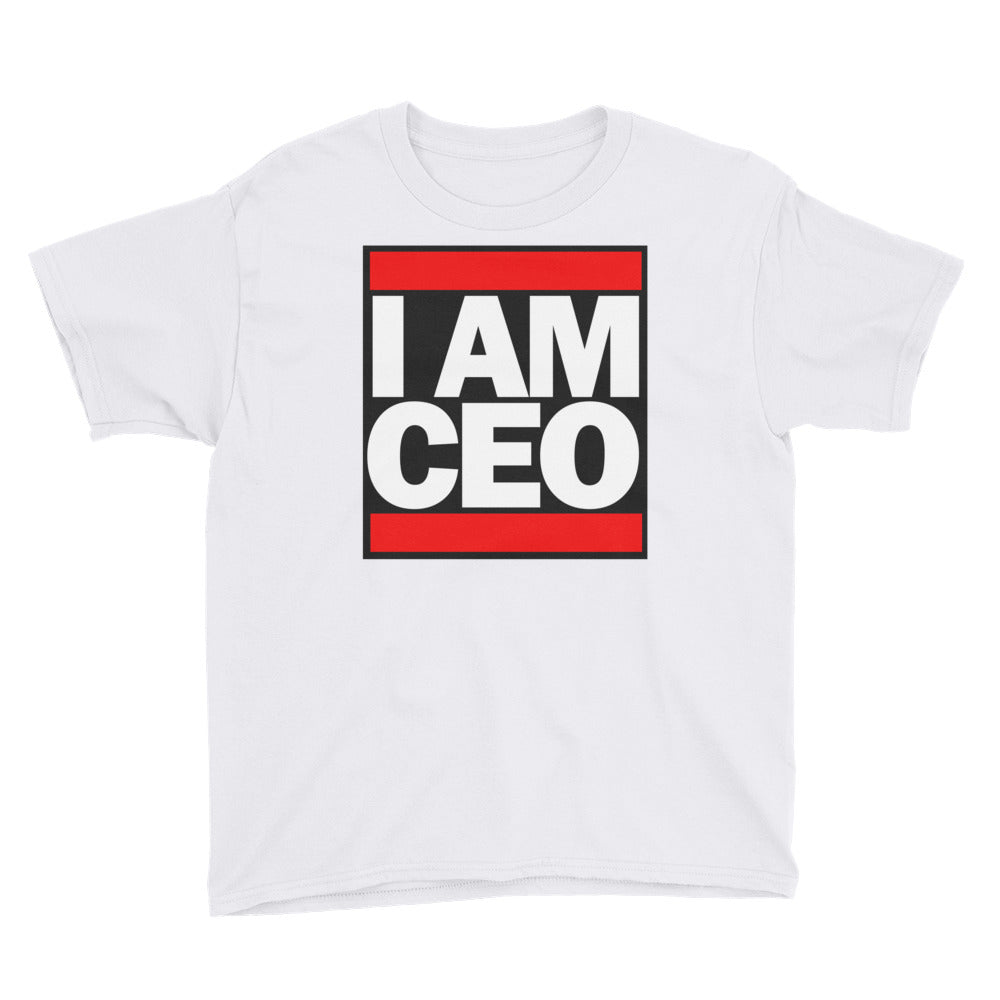 I AM CEO - Youth Short Sleeve T-Shirt
